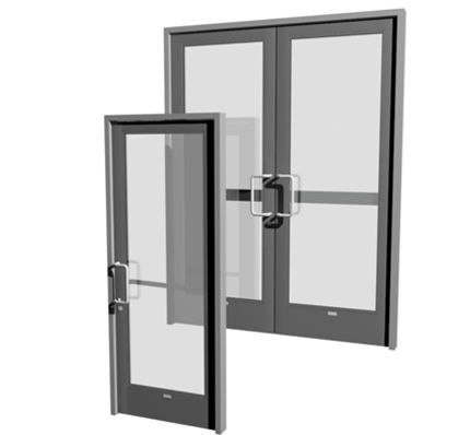 Commercial Stile And Rail Kitchen Door